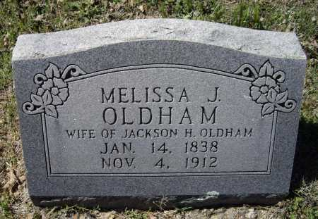 OLDHAM, MELISSA J - Lawrence County, Arkansas | MELISSA J OLDHAM - Arkansas Gravestone Photos