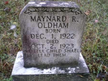 OLDHAM, MAYNARD RAYMOND - Lawrence County, Arkansas | MAYNARD RAYMOND OLDHAM - Arkansas Gravestone Photos