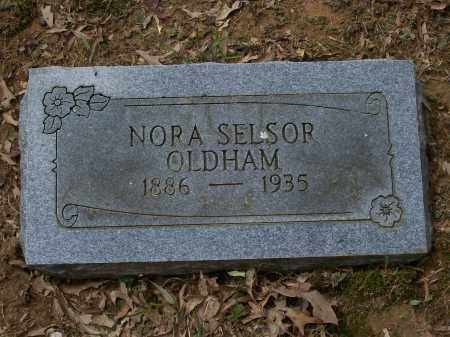 SELSOR OLDHAM, NORA B. - Lawrence County, Arkansas | NORA B. SELSOR OLDHAM - Arkansas Gravestone Photos
