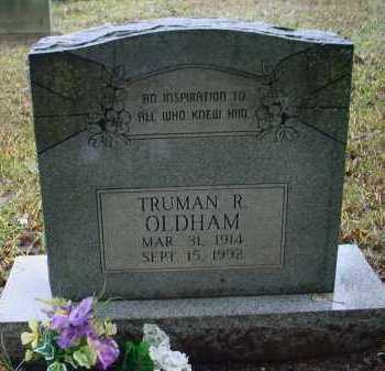 OLDHAM, TRUMAN RAY - Lawrence County, Arkansas | TRUMAN RAY OLDHAM - Arkansas Gravestone Photos