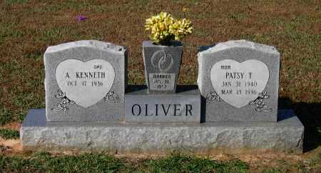 "OLIVER, THELMA BERNICE ""PATSY"" - Lawrence County, Arkansas | THELMA BERNICE ""PATSY"" OLIVER - Arkansas Gravestone Photos"
