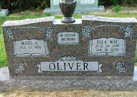 OLIVER, MILES A. - Lawrence County, Arkansas | MILES A. OLIVER - Arkansas Gravestone Photos