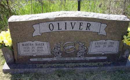 OLIVER, MARTHA ELAINE - Lawrence County, Arkansas | MARTHA ELAINE OLIVER - Arkansas Gravestone Photos