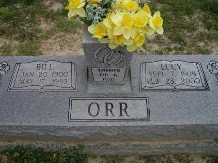 "ORR, WILLIAM ""BILL"" - Lawrence County, Arkansas 