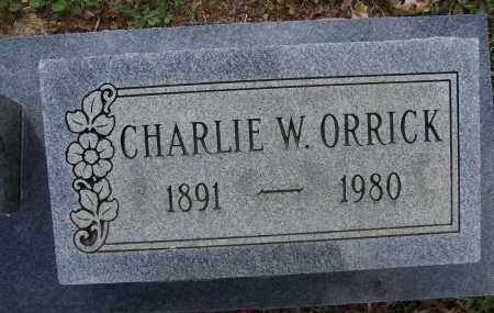 "ORRICK, SR. (VETERAN WWI), CHARLES WILLIS ""CHARLIE"" - Lawrence County, Arkansas 