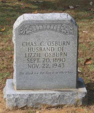 OSBURN, CHARLES CLARENCE - Lawrence County, Arkansas | CHARLES CLARENCE OSBURN - Arkansas Gravestone Photos