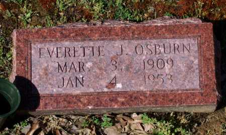 OSBURN, EVERETTE JEFFERSON - Lawrence County, Arkansas | EVERETTE JEFFERSON OSBURN - Arkansas Gravestone Photos
