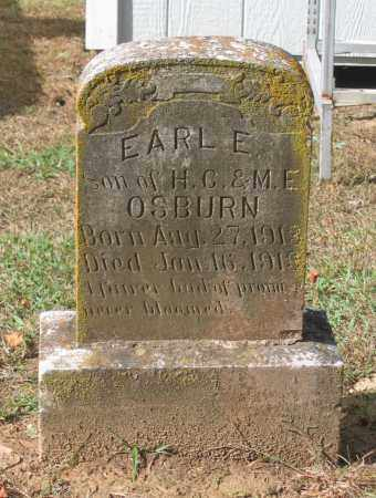 OSBURN, EARL E. - Lawrence County, Arkansas | EARL E. OSBURN - Arkansas Gravestone Photos