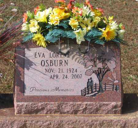 OSBURN, EVA LORENE - Lawrence County, Arkansas | EVA LORENE OSBURN - Arkansas Gravestone Photos