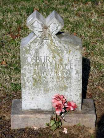 "OSBURN, HARRIETT JANE ""HATTIE"" - Lawrence County, Arkansas 