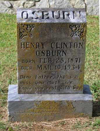 OSBURN, HENRY CLINTON - Lawrence County, Arkansas | HENRY CLINTON OSBURN - Arkansas Gravestone Photos