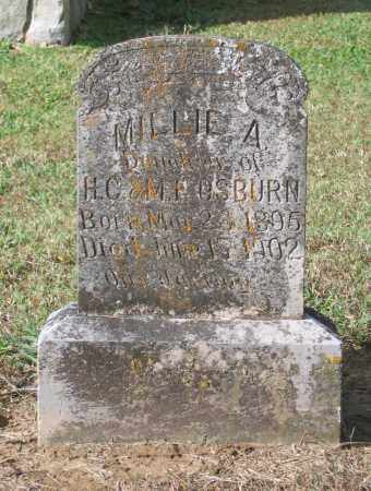 OSBURN, MILLIE A. - Lawrence County, Arkansas | MILLIE A. OSBURN - Arkansas Gravestone Photos