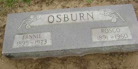 OSBURN, FANNIE - Lawrence County, Arkansas | FANNIE OSBURN - Arkansas Gravestone Photos