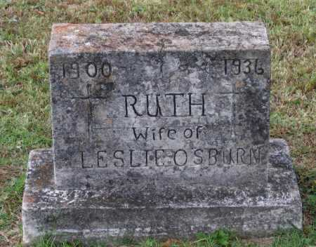 LINGO OSBURN, RUTH - Lawrence County, Arkansas | RUTH LINGO OSBURN - Arkansas Gravestone Photos