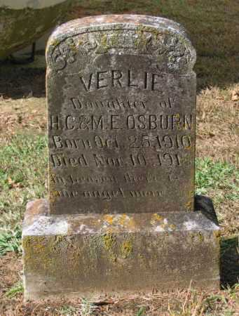 OSBURN, VERLIE - Lawrence County, Arkansas | VERLIE OSBURN - Arkansas Gravestone Photos