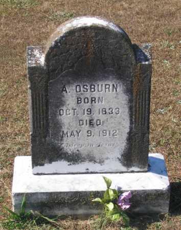 OSBURN (VETERAN CSA), EZRA AZOR - Lawrence County, Arkansas | EZRA AZOR OSBURN (VETERAN CSA) - Arkansas Gravestone Photos