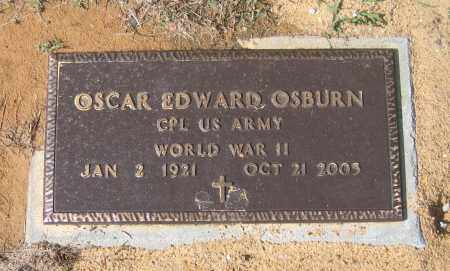 OSBURN (VETERAN WWII), OSCAR EDWARD - Lawrence County, Arkansas | OSCAR EDWARD OSBURN (VETERAN WWII) - Arkansas Gravestone Photos