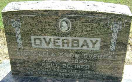 OVERBAY, ANNA LELA - Lawrence County, Arkansas | ANNA LELA OVERBAY - Arkansas Gravestone Photos