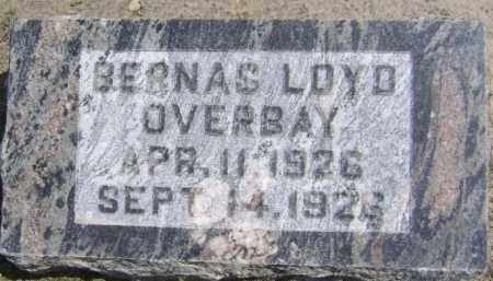 OVERBAY, BERNAS LOYD - Lawrence County, Arkansas | BERNAS LOYD OVERBAY - Arkansas Gravestone Photos