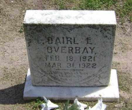 OVERBAY, DAIRL L - Lawrence County, Arkansas | DAIRL L OVERBAY - Arkansas Gravestone Photos