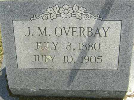 OVERBAY, J, M, - Lawrence County, Arkansas | J, M, OVERBAY - Arkansas Gravestone Photos