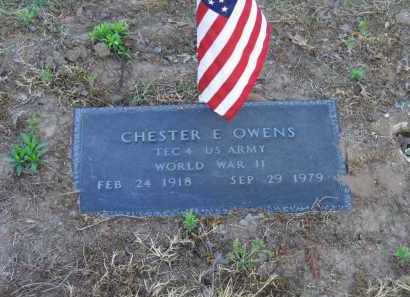 OWENS (VETERAN WWII), CHESTER E. - Lawrence County, Arkansas | CHESTER E. OWENS (VETERAN WWII) - Arkansas Gravestone Photos