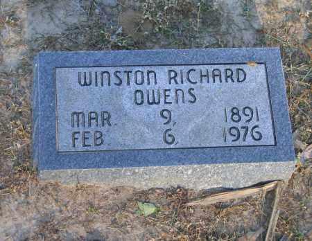 OWENS, WINSTON RICHARD - Lawrence County, Arkansas | WINSTON RICHARD OWENS - Arkansas Gravestone Photos