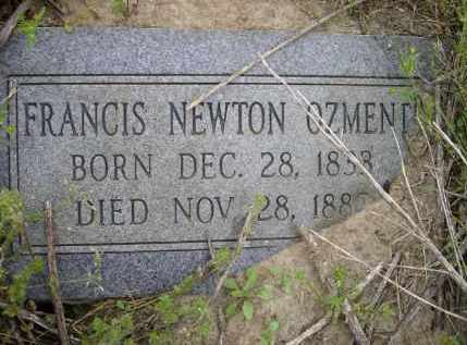 OZMENT, FRANCIS NEWTON - Lawrence County, Arkansas | FRANCIS NEWTON OZMENT - Arkansas Gravestone Photos