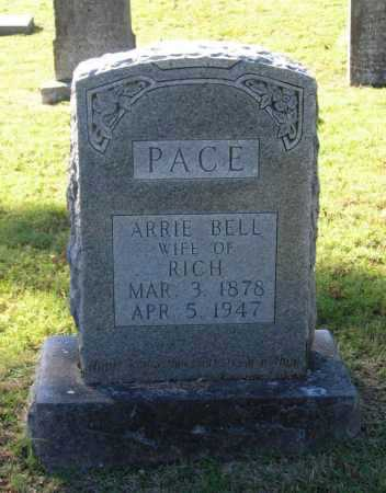 NOWLIN PACE, ARRIE BELL - Lawrence County, Arkansas | ARRIE BELL NOWLIN PACE - Arkansas Gravestone Photos