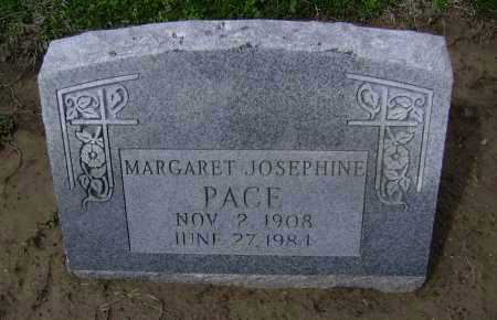 PACE, MARGARET JOSEPHINE - Lawrence County, Arkansas | MARGARET JOSEPHINE PACE - Arkansas Gravestone Photos