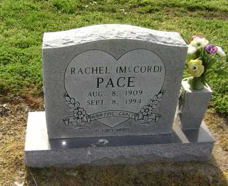 MCCORD PACE, RACHEL - Lawrence County, Arkansas | RACHEL MCCORD PACE - Arkansas Gravestone Photos