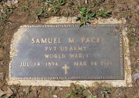PACE (VETERAN WWI), SAMUEL MOODY - Lawrence County, Arkansas | SAMUEL MOODY PACE (VETERAN WWI) - Arkansas Gravestone Photos