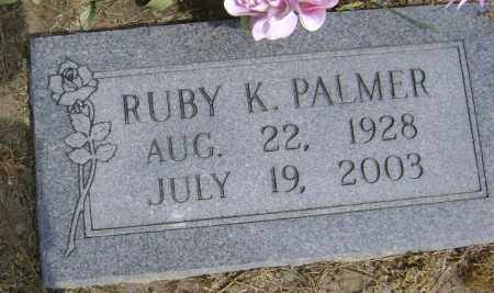 PALMER, RUBY K - Lawrence County, Arkansas | RUBY K PALMER - Arkansas Gravestone Photos