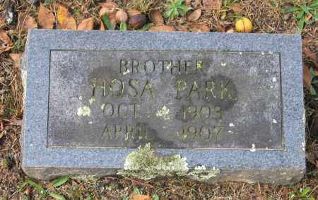 "PARK, HOSEA ""HOSA"" - Lawrence County, Arkansas 