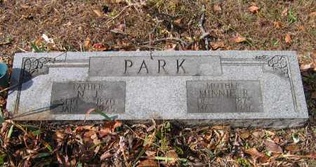 PARK, MINNIE - Lawrence County, Arkansas | MINNIE PARK - Arkansas Gravestone Photos