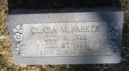PARKER, CLARA M. - Lawrence County, Arkansas | CLARA M. PARKER - Arkansas Gravestone Photos