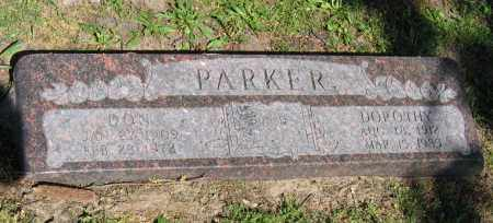 PARKER, DON - Lawrence County, Arkansas | DON PARKER - Arkansas Gravestone Photos