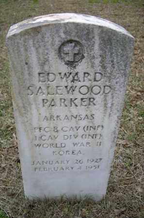 PARKER (VETERAN 2 WARS), EDWARD SALEWOOD - Lawrence County, Arkansas | EDWARD SALEWOOD PARKER (VETERAN 2 WARS) - Arkansas Gravestone Photos