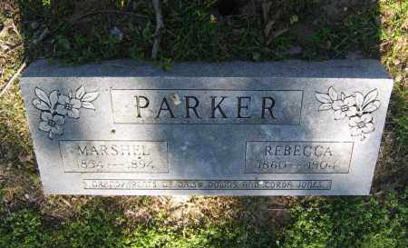 PARKER, MARSHEL - Lawrence County, Arkansas | MARSHEL PARKER - Arkansas Gravestone Photos