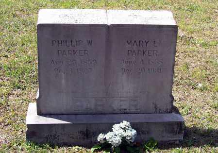 JONES PARKER, MARY E. - Lawrence County, Arkansas | MARY E. JONES PARKER - Arkansas Gravestone Photos
