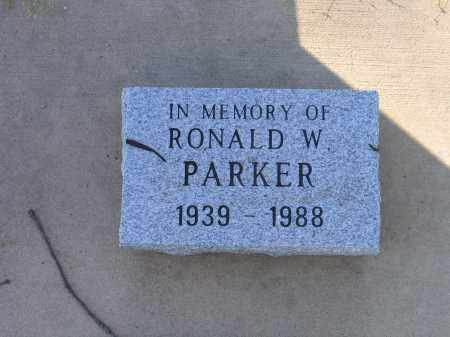 PARKER, RONALD W. - Lawrence County, Arkansas | RONALD W. PARKER - Arkansas Gravestone Photos