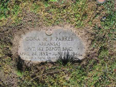 PARKER (VETERAN WWI), CONA M. R. - Lawrence County, Arkansas | CONA M. R. PARKER (VETERAN WWI) - Arkansas Gravestone Photos