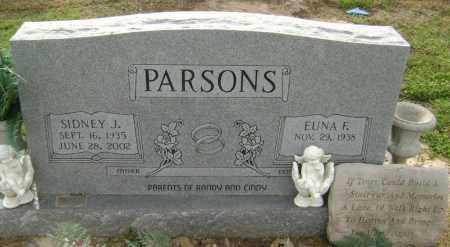 PARSONS (VETERAN), SIDNEY J. - Lawrence County, Arkansas | SIDNEY J. PARSONS (VETERAN) - Arkansas Gravestone Photos