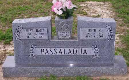 "PASSALAQUA, HENRY ""HANK"" - Lawrence County, Arkansas | HENRY ""HANK"" PASSALAQUA - Arkansas Gravestone Photos"