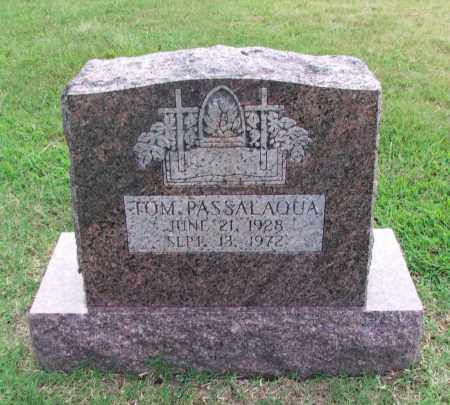 "PASSALAQUA, THOMAS ""TOM"" - Lawrence County, Arkansas 