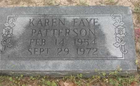 PATTERSON, KAREN FAYE - Lawrence County, Arkansas | KAREN FAYE PATTERSON - Arkansas Gravestone Photos