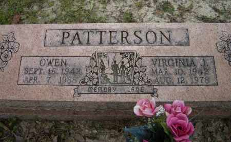O'CONNOR PATTERSON, VIRGINIA JANE - Lawrence County, Arkansas | VIRGINIA JANE O'CONNOR PATTERSON - Arkansas Gravestone Photos