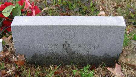 PEARSON (VETERAN WWII), TROY ELMER - Lawrence County, Arkansas | TROY ELMER PEARSON (VETERAN WWII) - Arkansas Gravestone Photos