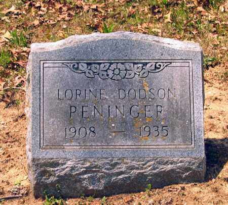 DODSON PENINGER, LORINE - Lawrence County, Arkansas | LORINE DODSON PENINGER - Arkansas Gravestone Photos