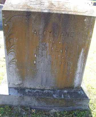 MASSEY PENN, ALCY JANE - Lawrence County, Arkansas | ALCY JANE MASSEY PENN - Arkansas Gravestone Photos